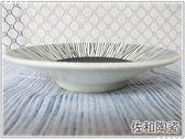 佐和陶瓷餐具~XL04051 22 黑輪二重5 吋小菜碟 製~肉盤菜盤水果盤糕點盤
