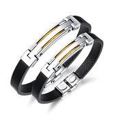 【5折超值價】經典流行創意鋼絲造型鈦鋼皮手環