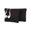 【A-HUNG】彈簧鐵片耳機收納袋 耳機袋 耳機包 耳機收納包 零錢包 耳機收納盒 3C配件收納袋
