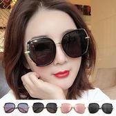 墨鏡復古偏光鏡片平面顯小臉時尚新潮流網紅款墨鏡抗UV400太陽眼鏡檢驗合格