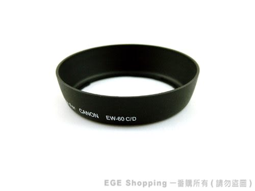EGE 一番購】for CANON專業版遮光罩(EW-60C)【EF 28-80mm 28-90mm 18-55mm 】