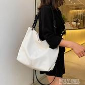 包包女2021新款潮韓版ins百搭簡約大容量托特包側背斜背手提大包 秋季新品