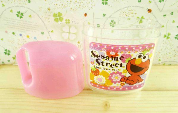 【震撼精品百貨】Sesame Street_芝麻街~外出牙刷組-草莓