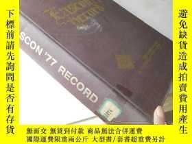 二手書博民逛書店Eascon罕見77 Record IEEE Electroni