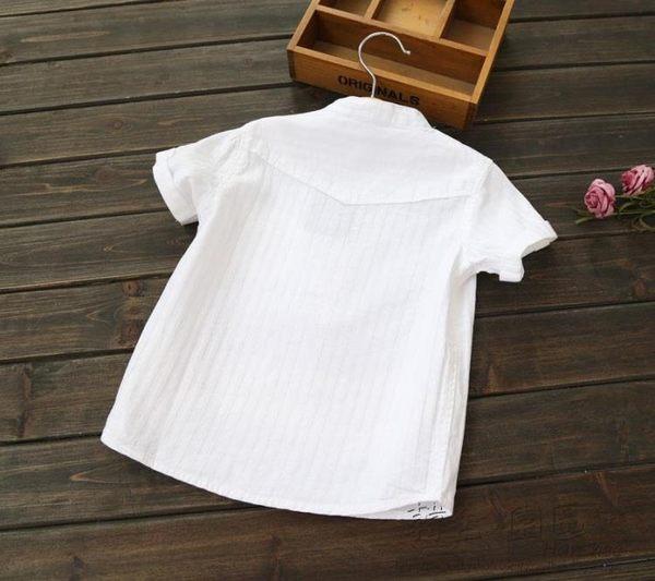 618好康又一發立領夏裝潮寶寶上衣小童純棉