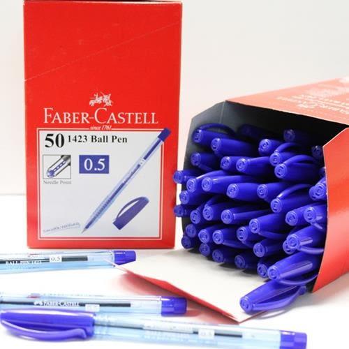 輝柏好書寫藍色原子筆0.5mm藍色 X 100支 (50支 X 2盒)