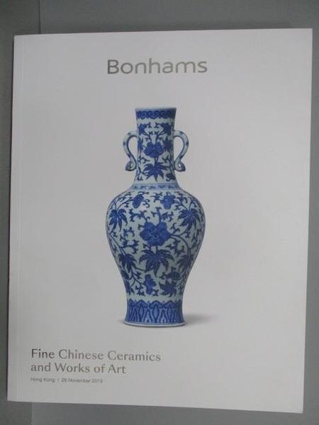 【書寶二手書T6/收藏_PND】Bonhams_Fine Chinese Ceramics…Art_201/11/26
