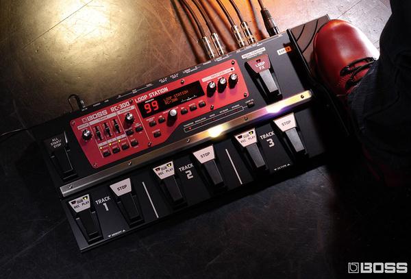 小叮噹的店- 錄音效果器 Loop工作站 BOSS RC-300 三音軌立體聲