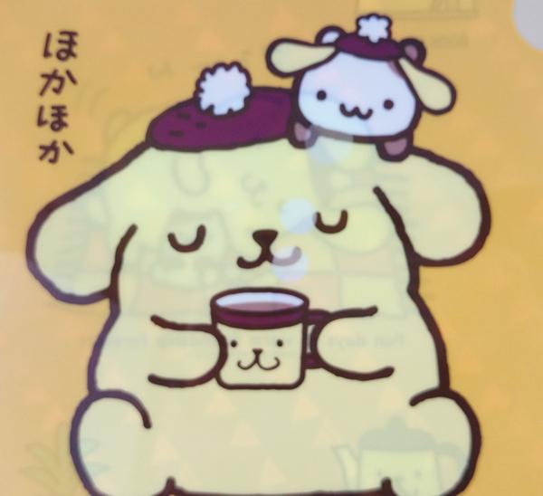 【震撼精品百貨】Pom Pom Purin 布丁狗~資料夾_2入