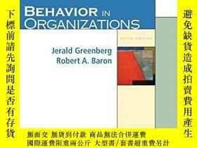 二手書博民逛書店Behavior罕見In Organizations (9th Edition)Y364682 Jerald