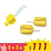 【雙11特惠組 $111】酷咕鴨 KUKU 海綿奶嘴刷 + 補充頭2入