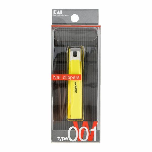 日本貝印 (KAI) 指甲刀 - 平口001綠色 KE-0110