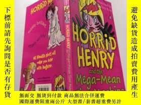 二手書博民逛書店horrid罕見henry and the mega-mean time machine : 可怕的亨利和超級平均