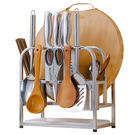 不鏽鋼刀架砧板架功能廚房用品廚具收納架