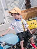 兒童夏裝短袖t恤男童男孩純棉夏季上衣體恤中小童1-3歲潮 奇思妙想屋