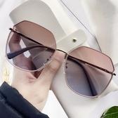 太陽眼鏡女士防紫外線網紅偏光眼鏡女韓版潮大臉顯瘦墨鏡年新款【免運快出】