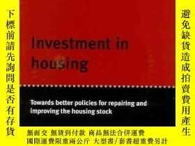 二手書博民逛書店Investment罕見in Housing: Towards