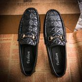 休閒鞋 真皮鞋真皮豆豆鞋 一腳蹬懶人鞋【非凡上品】nx2343