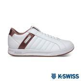 K-SWISS Lundahl Slip-On S CMF休閒運動鞋-女-白/乾燥玫瑰