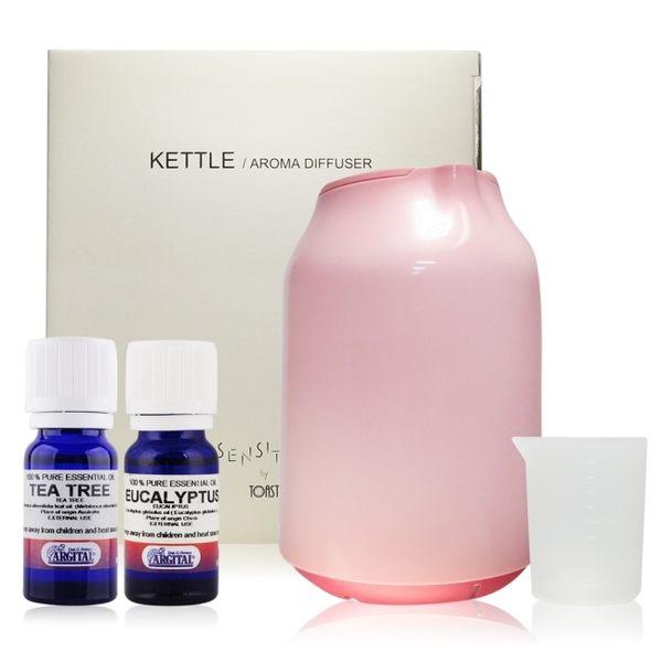 蕾莉歐 TOAST 香氛精靈水氧機 - 巧漾型(LT0956-05)+單方精油(10ml)X2