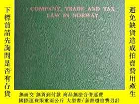二手書博民逛書店Company罕見Trade And Tax Law In No