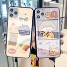 卡通時尚三星S21 Ultra手機殼 SamSung S21日系手機套 日韓三星S21保護殼 可愛清新Galaxy S21+保護套