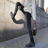緊身牛仔褲 緊身牛仔褲女顯瘦灰色打底鉛筆褲2019新款春秋高腰彈力小腳褲子