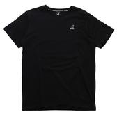 KANGOL 短袖 短T 黑 左胸小LOGO 刺繡 袋鼠 棉 男 (布魯克林) 6021101720
