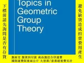 二手書博民逛書店Topics罕見In Geometric Group TheoryY364682 Harpe, Pierre