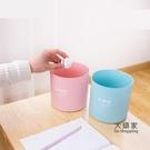桌面垃圾桶 迷你分類桌面垃圾桶創意無蓋客廳小號筒臥室桌上可愛收納紙簍
