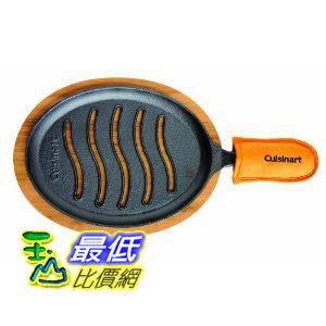 [美國直購 ShopUSA]  Cuisinart Pre-Seasoned Cast Iron Grilled Fajita Set  $1740