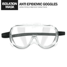四孔排氣全罩護目鏡 隔離眼鏡面罩 防濺射防飛沫防霧 防疫專用護目鏡 可內搭眼鏡 台灣現貨