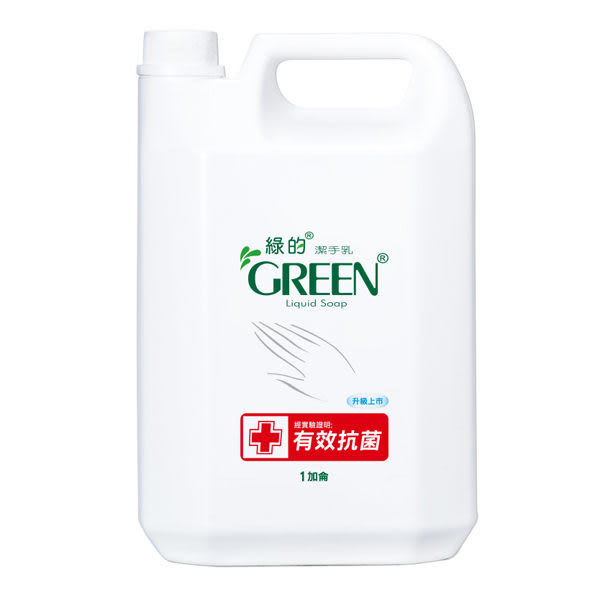 綠的GREEN 抗菌潔手乳加侖桶3800ml