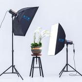 金鷹FX400W攝影燈影室閃光燈攝影棚套裝人像服裝淘寶產品拍攝拍照 MKS   全館免運