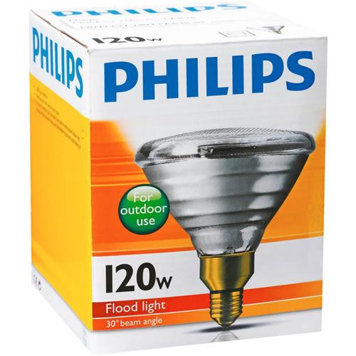 【燈王的店】《飛利浦燈泡》E27燈頭 120W珠寶燈泡 (易碎品需自取) ☆ PAR38-120W