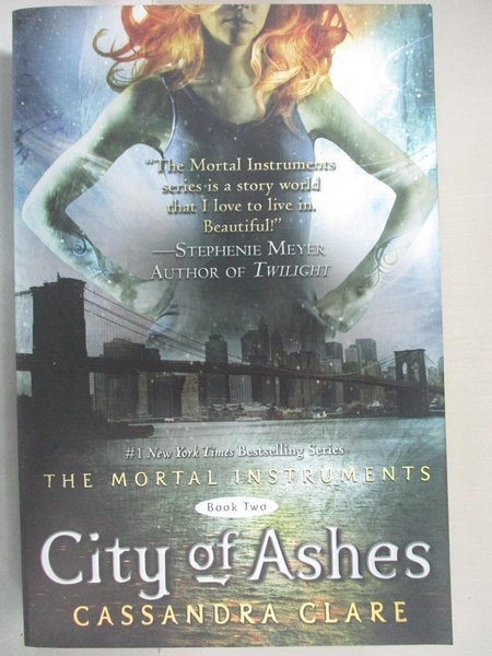 【書寶二手書T7/一般小說_GV8】City of Ashes_Clare, Cassandra