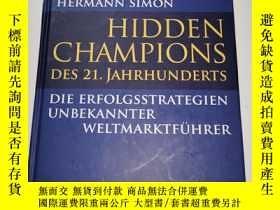 二手書博民逛書店Hidden罕見Champions des 21.Jahrhunderts(德文原版)Y241290 Camp