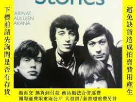 二手書博民逛書店芬蘭語原版罕見Inside The Rolling Stones