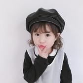 兒童帽子 兒童帽子秋季女寶寶可愛貝雷帽時尚蝴蝶結女童漁夫帽小孩地主帽潮【小艾新品】