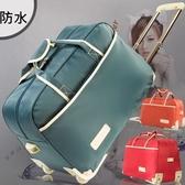旅行行李袋-休閒大容量手提輕便拉桿包7色73b26【時尚巴黎】