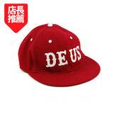 Deus Ex Machina Curtis 棒球帽  | 騎士衝浪品牌 - (紅)