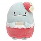 【角落生物 草莓娃娃】角落生物 恐龍 玩偶 娃娃 草莓季 超柔軟 日本正版 該該貝比日本精品