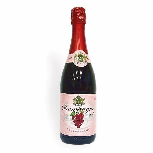 七星紅葡萄汽泡香檳飲料750ml【愛買】