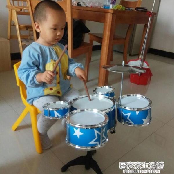 兒童架子鼓初學者練習鼓寶寶仿真爵士鼓樂器音樂玩具五鼓1-3-6歲 居家家生活館