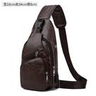 新款胸包男士包包側背斜背包男韓版潮學生休閒胸前小背包 智慧 618狂歡