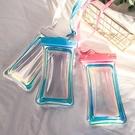 彩光充氣手機防水袋觸屏透明