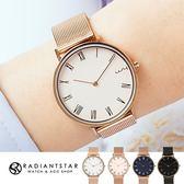 韓國WEIYA後來的我們極簡羅馬刻度米蘭金屬鍊帶手錶閨蜜禮【WWY1628】璀璨之星☆