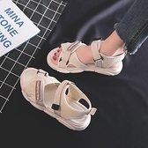 涼鞋女仙女風2021夏新款學生韓版百搭平底運動鞋ins網紅小熊女鞋 夢幻小鎮