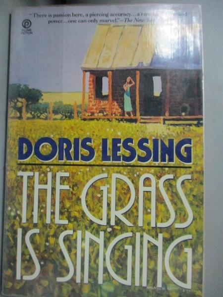 【書寶二手書T4/原文小說_MPX】The Grass Is Singing_Lessing