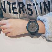 ins原宿風手錶大表盤超大個性簡約男韓版潮流學生bf風 米希美衣
